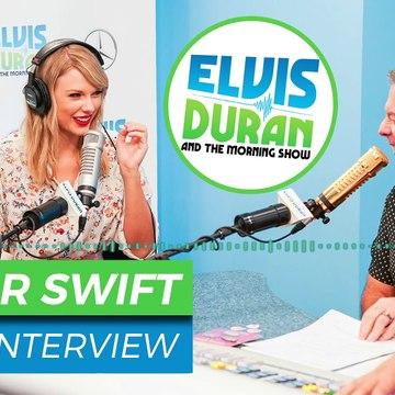 Taylor Swift Tells the Stories Behind 'Lover' - Elvis Duran Show