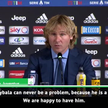We are happy to have him - Nedved on Dybala