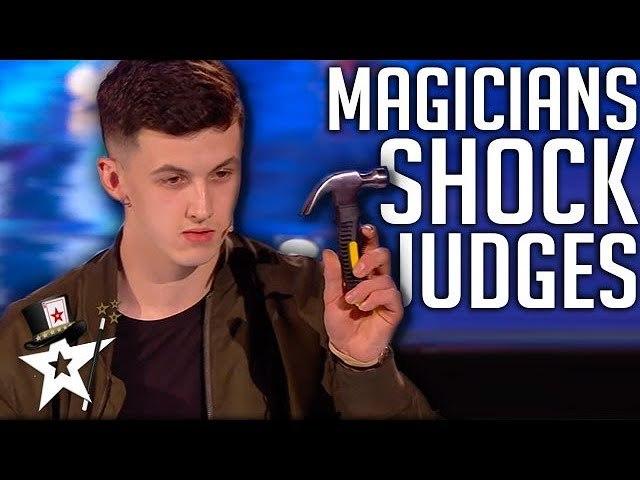 Teen Magicians Impress Stun on BGT 2019 - Magicians Got Talent