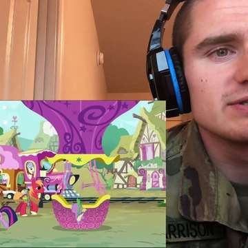 """MLP FIM Season 2 Episode 24 """"MMMystery on the Friendship Express"""" Blind Reaction"""
