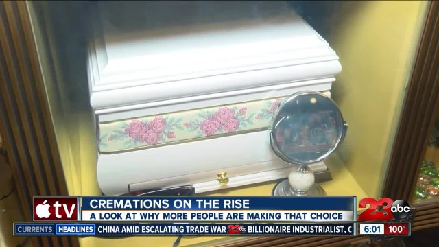 Cremation Rates on the Rise