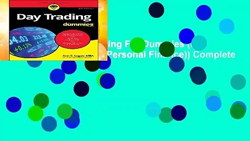 Full E-book  Day Trading For Dummies (For Dummies (Business   Personal Finance)) Complete