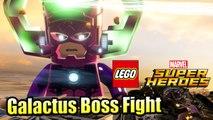 Galactus Final Boss Fight — LEGO Marvel Super Heroes 1