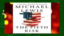 Full version  The Fifth Risk: Undoing Democracy  Best Sellers Rank : #1