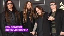 Korn's concert in een game