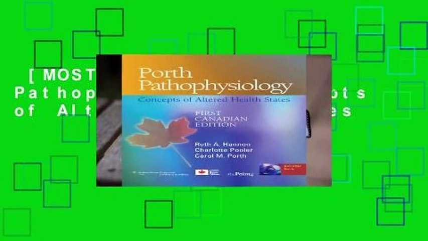 [MOST WISHED]  Porth Pathophysiology: Concepts of Altered Health States