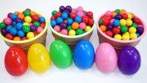 Colors Bubble Gum Surprise Toys Learn Colors Slime Surprise Eggs Toy