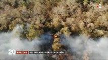 Nouvelles images des incendies en Amazonie qui semblent incontrôlables