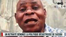 LE DICTATEUR DENIS SASSOU NGUESSO TRAITÉ DE VOLEUR PAR LES RETRAITÉS EN COLÈRE