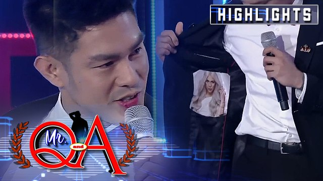Ion shows off his customized Vice Ganda outfit   It's Showtime Mr Q and A