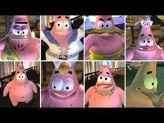 SpongeBob The Movie All Costumes & Idle Animations (Patrick)