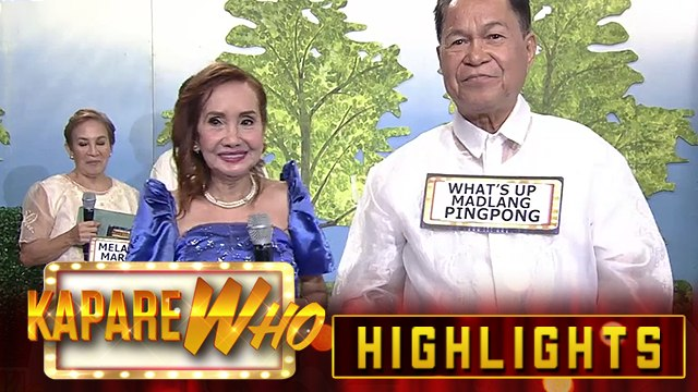 In Love Ako Sayaw picks What's Up Madlang Ping Pong as her KapareWHO | It's Showtime KapareWHO