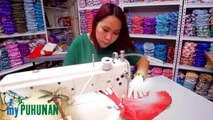 Lanie Geronimo presents the varieties of diapers she sells | My Puhunan