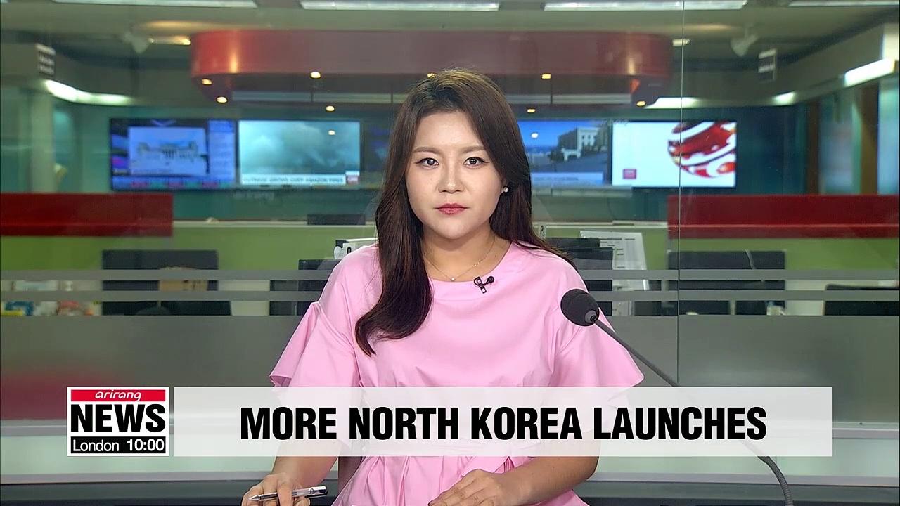 N. Korea fires 2 'short-range ballistic missiles' into East Sea: S. Korean military