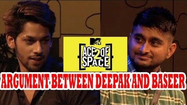 Grand Entry of Ace of Space season 2 | Argument between Baseer Ali and Deepak Thakur