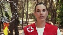 Así recomienda actuar Cruz Roja si nos topamos con un incendio de gran densidad