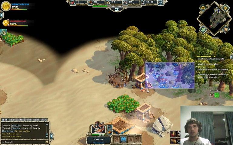 Age of Empires Online Egypt Vs Greeks