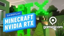 Minecraft With Ray Tracing NVIDIA EVENT @ Gamescom 2019