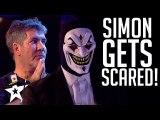TERRIFYING Act SHOCKS Simon Cowell on Britain's Got Talent - Magicians Got Talent