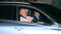 El Rey Juan Carlos llega a la Clínica Quirón para ser operado