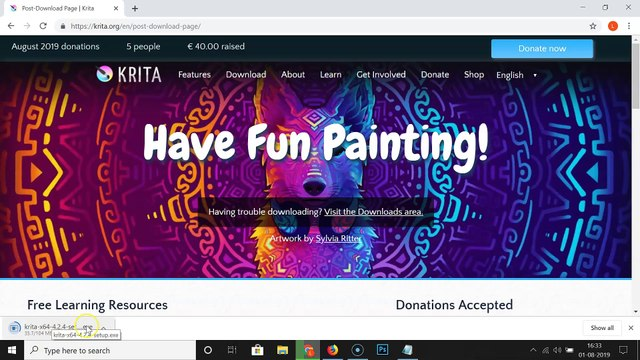 How to Install Krita Painting Software on Windows 10?