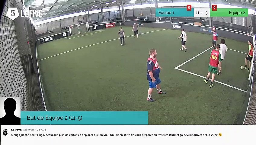 But de Equipe 2 (11-5)