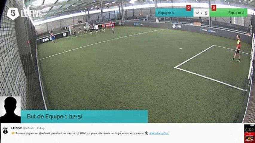 But de Equipe 1 (12-5)