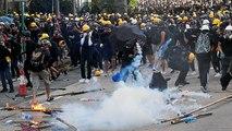 Nouveaux heurts entre manifestants pro-démocratie et policiers à Hong Kong