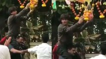 Janmashtami 2019: Shahrukh Khan breaks dahi handi & celebrates the festival; WATCH | FilmiBeat
