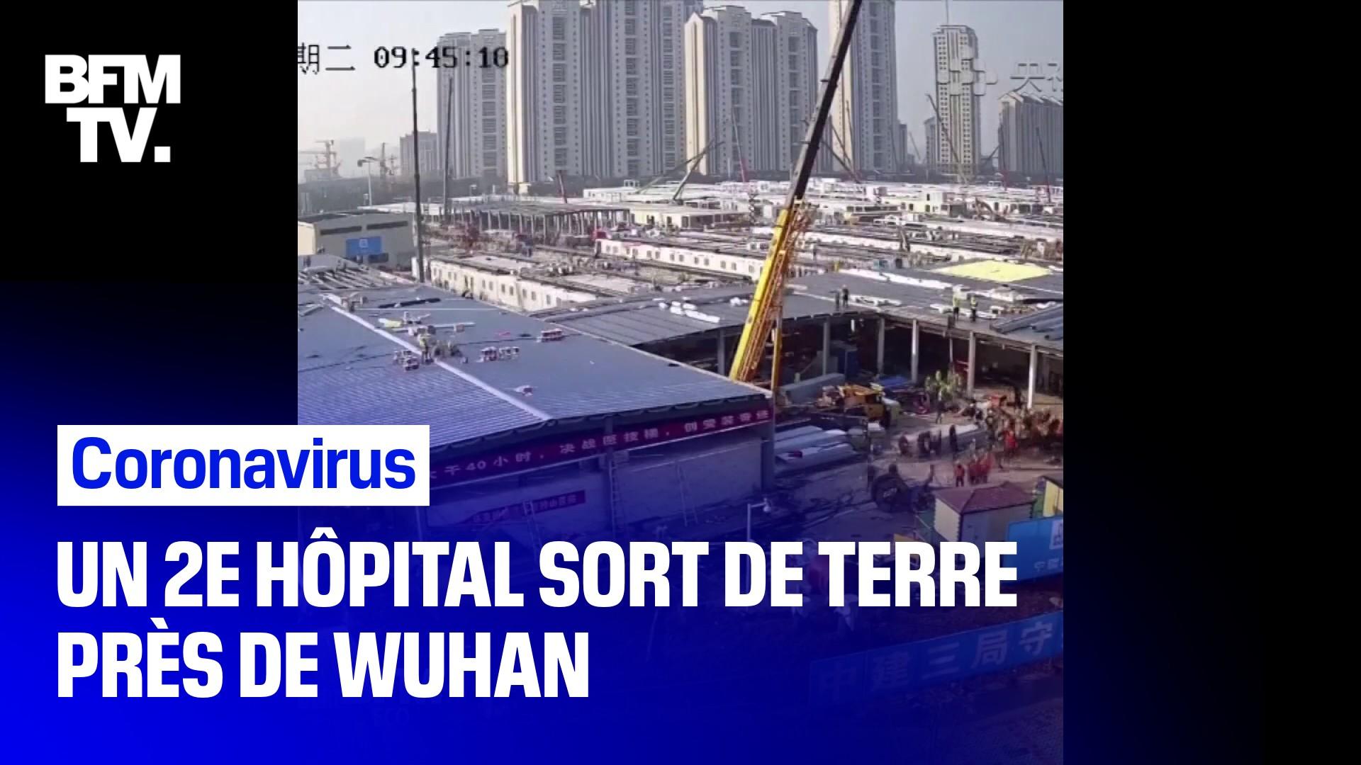 Coronavirus chinois : le deuxième hôpital d'urgence bientôt mis en service près de Wuhan