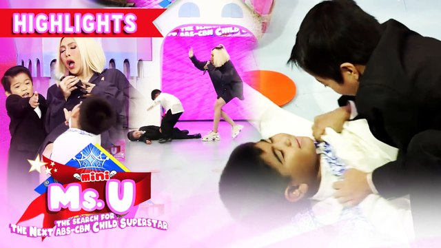 Vice plays an action skit with Yorme and Carlo | It's Showtime Mini Miss U