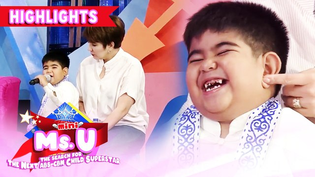 Yorme's message about proper throwing of garbage | It's Showtime Mini Miss U