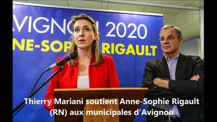 Municipales : Thierry Mariani soutient la candidate RN à Avignon