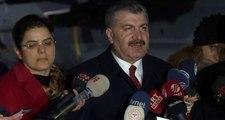 Sağlık Bakanı Koca'dan koronavirüs açıklaması: Yolcularımızda hastalık belirtisi yok