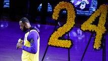 LeBron James on His Emotional Speech During Kobe Tribute