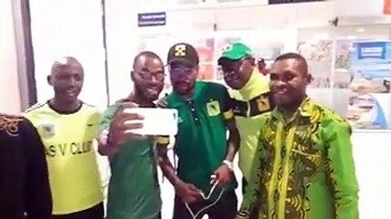 De retour à Kinshasa Ricky Tulenge accueilli en prince par les supporters  de Vita Club | SUIVEZ