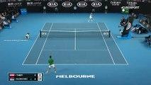 Djokovic était, déjà, très nerveux lors du premier set