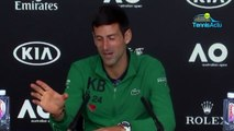 "Opend 'Australie 2020 - Novak Djokovic : ""The history of tennis is at stake"""