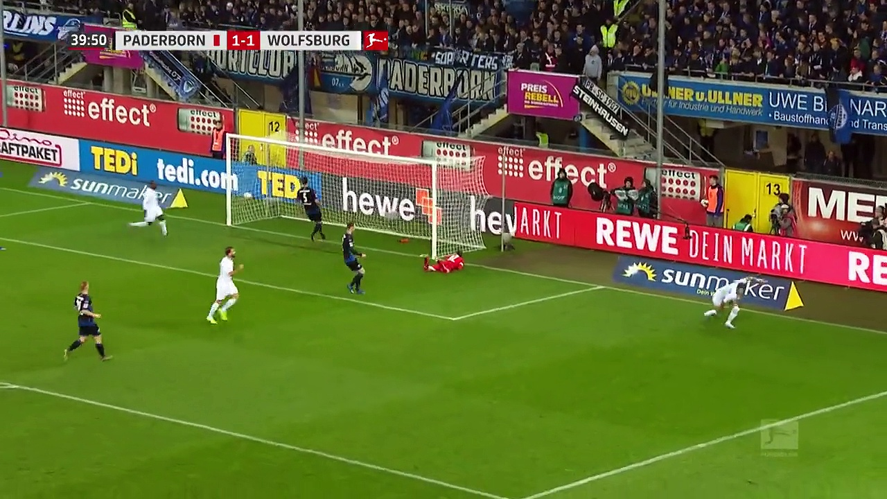 Paderborn - Wolfsburg (2-4) - Maç Özeti - Bundesliga 2019/20