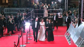 Duke and Duchess of Cambridge arrive at the BAFTA's