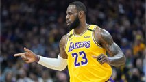 LeBron James Givers Heartfelt Speech Before Los Angeles Lakers Game