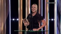 Margot Robbie représente Brad Pitt, meilleur acteur dans un second rôle  - BAFTAs 2020