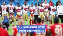 NFL Honors Kobe Bryant During Super Bowl LIV