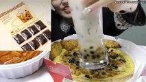 【Mr. Pizza Korea】Brown Sugar Bubble Tea Pizza 【Mr. Pizza Korea】【Tapioca Pizza】