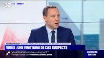 """Coronavirus: Adrien Taquet annonce que les tests sur la vingtaine de rapatriés qui présentaient des symptômes ce dimanche sont """"négatifs"""""""