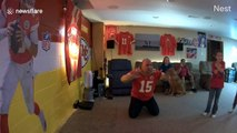 Lifelong family of Chiefs fans go CRAZY as team captures first Super Bowl in 50 years