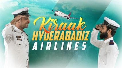 Kiraak Hyderabadi Airlines || Funny Pilots & Air Hostress || Comedy