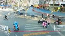 Virus - La Chine utilise des drones en pleine ville pour vérifier que tous les habitants portent bien des masques dans la rue