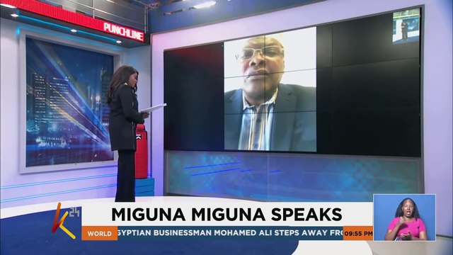 Miguna miguna: I Will never surrender