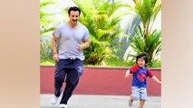 Taimur Ali Khan Enjoys day out With Papa Saif Ali Khan; check Out |FilmiBeat
